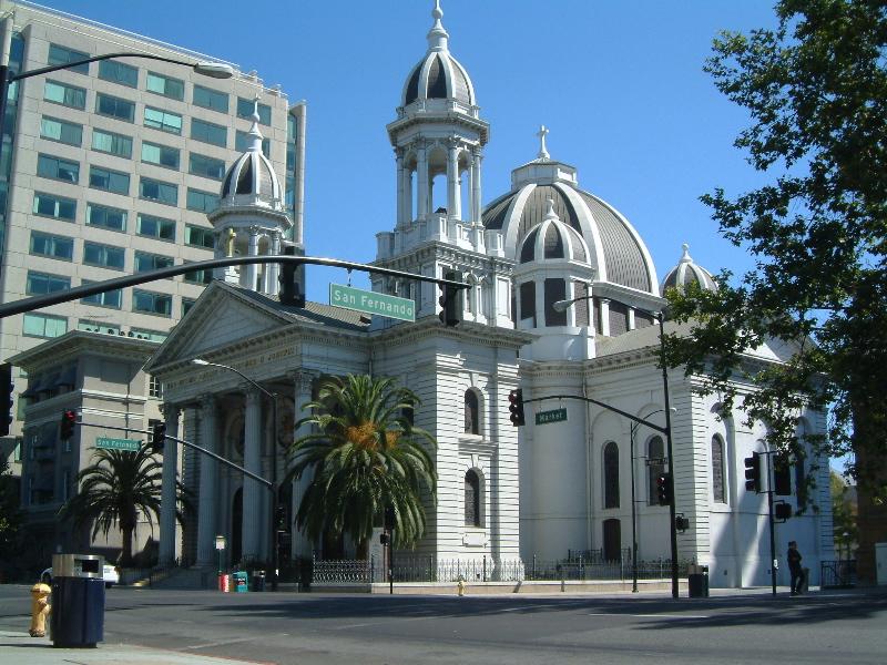 San Jose Pusatnya Dari California Utara Terletak Di Pusat Lembah Santa Clara